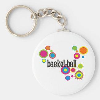 coolpolkadots-basketball-10x10-version4 chaveiro