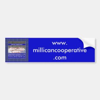 Cooperativa de Millican Adesivo Para Carro