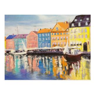 Copenhaga Cartão Postal