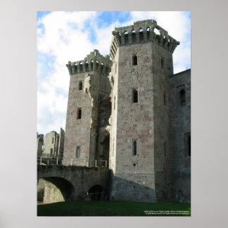 Cópia do castelo do Raglan de 20263 Gatehouse Posters