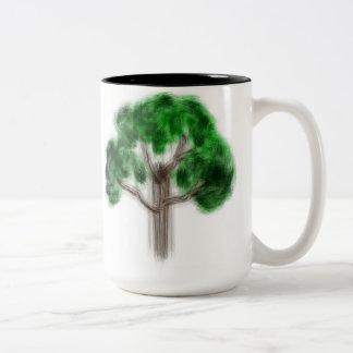 """Copo """"árvore """" caneca"""