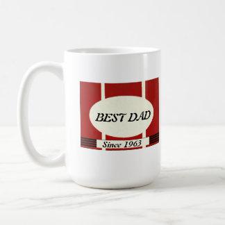 Copo customizável do melhor pai caneca