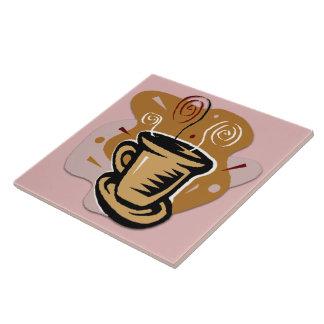 Copo de café - azulejo/Trivet do design do Azulejo Quadrado Grande