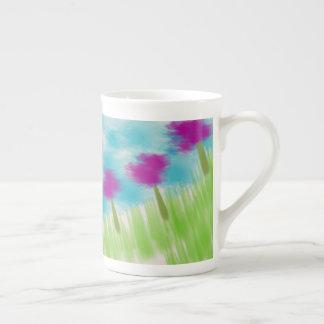 Copo de café da flor xícara de chá