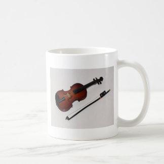 Copo de café diminuto muito legal do violino caneca de café