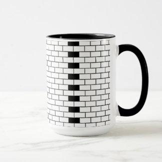 Copo de café do tijolo caneca