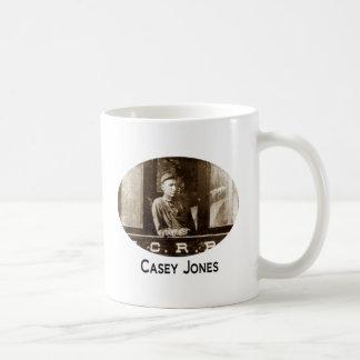 Copo de café do trem de Casey Jones Caneca De Café