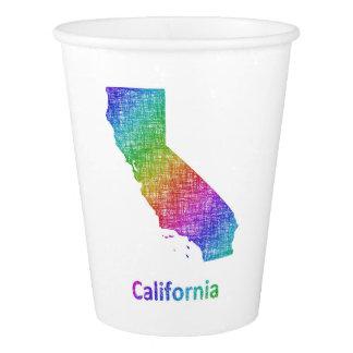Copo De Papel Califórnia