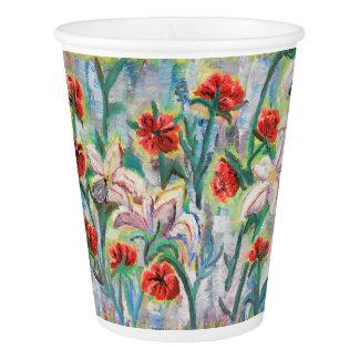 Copo De Papel Flores no papercup