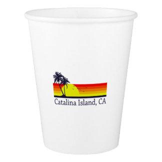 Copo De Papel Ilha Califórnia de Catalina