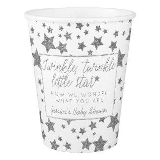 Copo De Papel Twink, cintilação pouco chá de fraldas da estrela