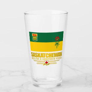 Copo De Pint Bandeira de Saskatchewan