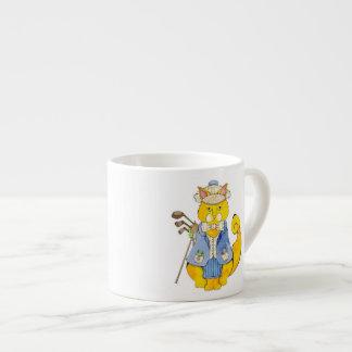 Copo do café do jogador de golfe xícara de espresso