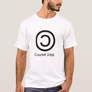 Copyleft 2008 camisetas