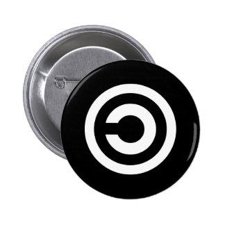 Copyleft - a informação quer estar livre botons