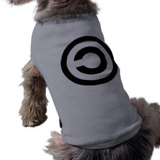Copyleft - a informação quer estar livre roupa pet