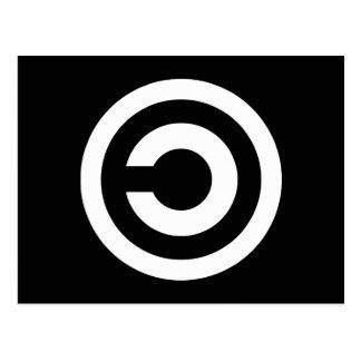 Copyleft - a informação quer estar livre cartoes postais