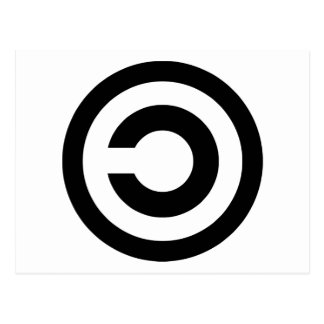 Copyleft - a informação quer estar livre cartao postal