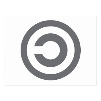 Copyleft - a informação quer estar livre cartões postais