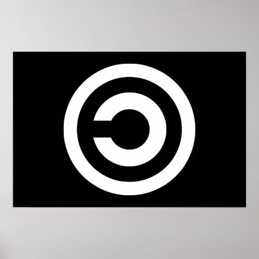 Copyleft - a informação quer estar livre posters