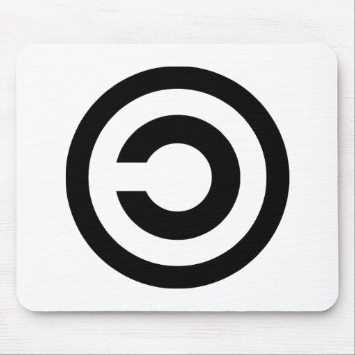 Copyleft - a informação quer estar livre mouse pad