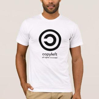 Copyleft. Todos os direitos reservados Tshirts