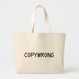 Copywrong Bolsa Para Compra
