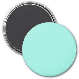 Cor clara da forma do verde azul do Aqua de Aquafr Imã De Refrigerador