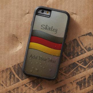 Cor-Cromo da bandeira de Alemanha por Shirley Capa Tough Xtreme Para iPhone 6