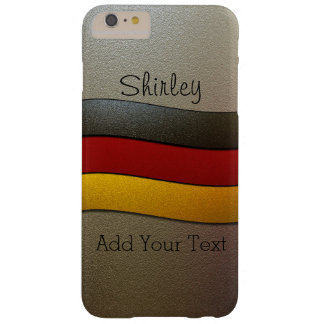 Cor-Cromo da bandeira de Alemanha por Shirley Capas iPhone 6 Plus Barely There