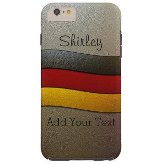 Cor-Cromo da bandeira de Alemanha por Shirley Capas iPhone 6 Plus Tough
