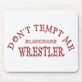 Cor da escola do lutador de Blanchard Mousepad