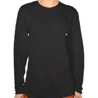Cor da mulher-gato t-shirts