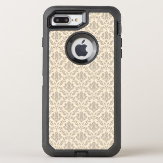 Cor damasco 3 capa para iPhone 8 plus/7 plus OtterBox defender