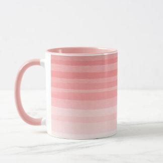 Cor-de-rosa desvanecido - caneca combinado da