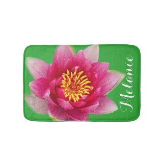 Cor-de-rosa nomeado Lírio Tapete De Banheiro