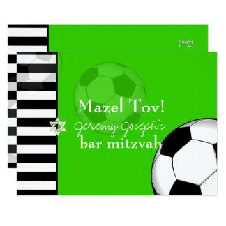 Cor do bar mitzvah/DIY do futebol de PixDezines Convite 12.7 X 17.78cm
