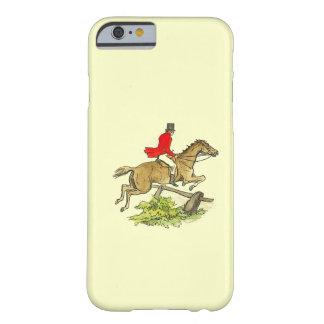 Cor do costume da equitação do caçador da ligação capa barely there para iPhone 6