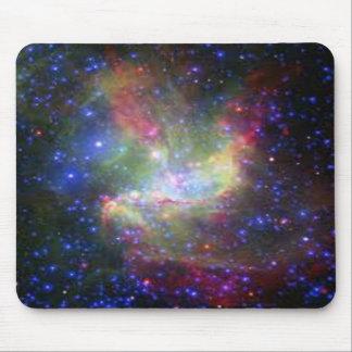 cor do espaço mouse pad