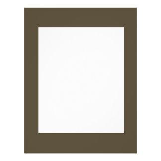 Cor Khaki do verde Greyed escuro do exército de Ca Panfletos Personalizados