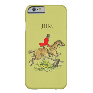 Cor Khaki feita sob encomenda do cavalo do caçador Capa Barely There Para iPhone 6