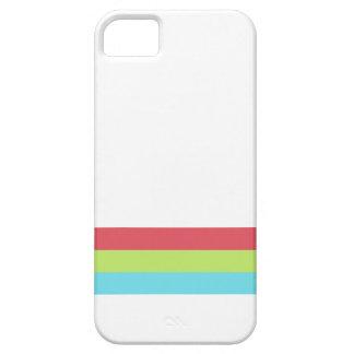 Cor três retro capa iPhone 5 Case-Mate