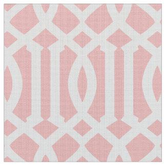 Cora o tecido marroquino cor-de-rosa do teste