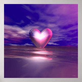 Coração à tona poster