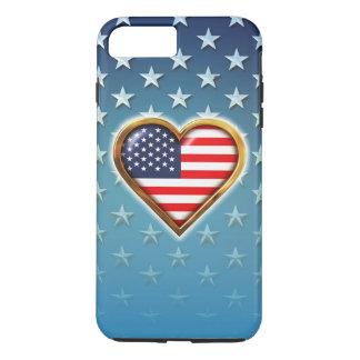 Coração americano capa iPhone 7 plus