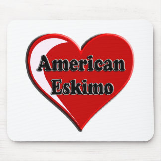 Coração americano do cão Eskimo para amantes do cã