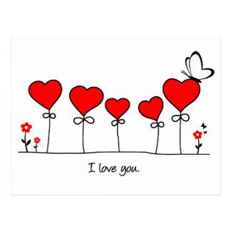 Coração amor borboleta - j love you