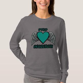 Coração/asas… PTSD Camiseta