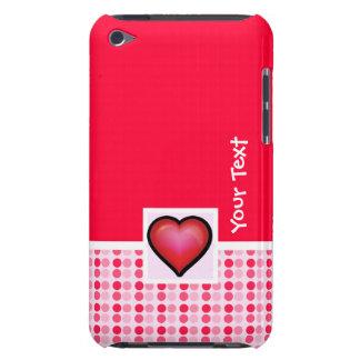 Coração bonito capa para iPod touch