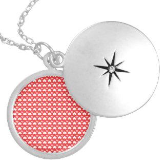 coração colar medalhão